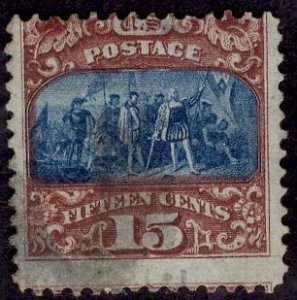 US Stamp #119 USED SCV $190