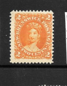 NEW BRUNSWICK 1860  2c   QV   MNG    SG 12
