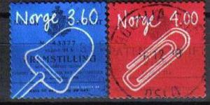 NORWAY, 1999, used set, Norwegian Inventions. Self-adhesive.
