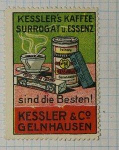 Kessler's & Co Coffee Surrogate & Essence German Brand Poster Stamp Ads