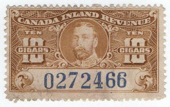 (I.B) Canada Revenue : Cigar Duty (10)