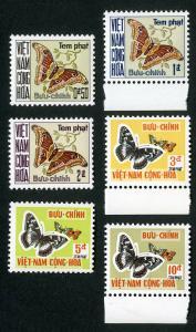 Vietnam Stamps # J15-20 XF OG NH Set of 6 Scott Value $52.50