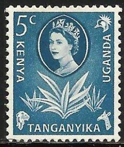 Kenya, Uganda & Tanzania 1960 Scott# 120 MH