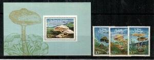 St. Thomas & Prince Islands Scott 771-4 Mint NH (Catalog Value $35.75)