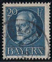 Bavaria 102 Used - King Ludwig III