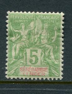 Senegambia & Niger #4 Mint