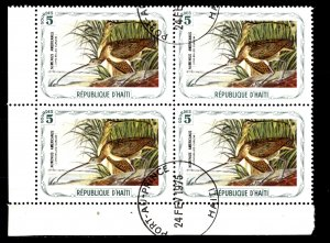Haiti, Cinderella, CTO-NH, 1975, Long Billed Curlew, (AA02068)