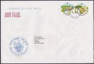 PITCAIRN 2001 commercial cover to New Zealand................................257