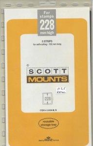 SCOTT MOUNT 1008B, 228 MM X 152 MM, NEW/UNOPENED, RETAIL $10.25