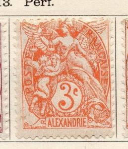 Alexandria 1902-13 Early Issue Fine Mint Hinged 3c. 054462