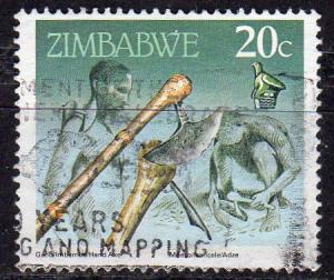 Zimbabwe 621 - Used - Hand Axe (1990) (3)