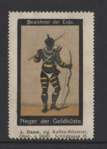 Germany- Inhabitants of Earth Series, Gold Coast Native costume - NG