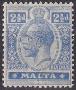 Malta #70 F-VF  Unused CV $7.75  (Z1650)
