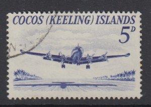 COCOS ISLANDS, Scott 2, used