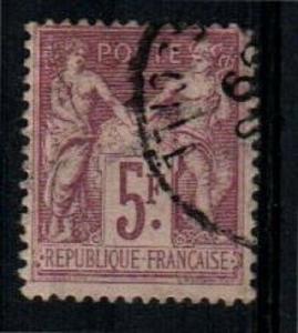 France Scott 96b Used (Catalog Value $90.00)