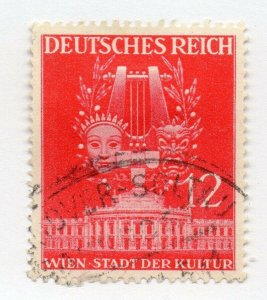 Germany 1943 Early Issue Fine Used 12pf. NW-100730
