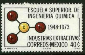 MEXICO 1056 40¢ Anniv of Chemical Engineering School MINT, NH. VF.
