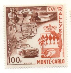 MONACO #365 Mint Hinged, Scott $16.00