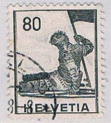 Switzerland Man with flag 80 (AP115140)