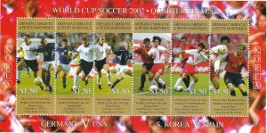 Grenada - Grenadines # 2429 & 2431, World Cup Soccer,  NH, 1/2 Cat.