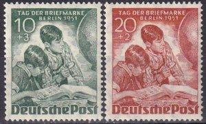 Germany #9NB6-7 MNH CV $40.00 (Z5287)
