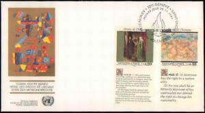 United Nations Vienna, Worldwide First Day Cover, Art