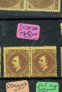 SARAWAK  (P2204B)  BROOK  3C   SG2+2A  STOP AFTER 3     NGAI