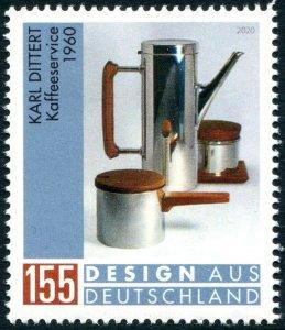 HERRICKSTAMP NEW ISSUES GERMANY Coffee Service
