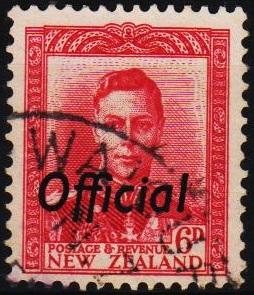 New Zealand. 1938 6d S.G.0154 Fine Used