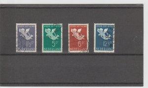 Netherlands  Scott#  B90-3  Used  (1936 Child Welfare)