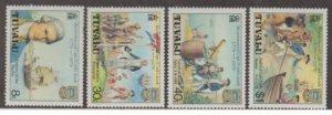 Tuvalu Scott #114-117 Stamps - Mint NH Set