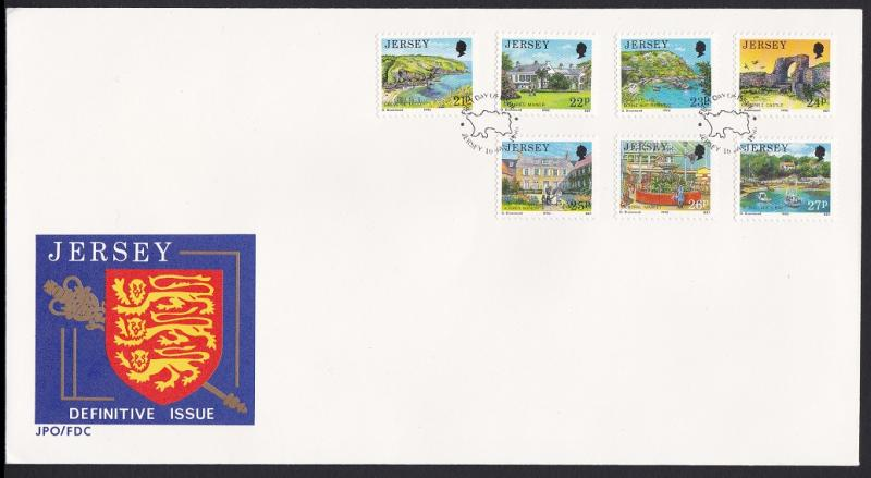 Jersey Definitive Issue FDC