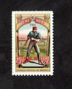 4341 Take Me Out To The Ball Game Single Mint/nh (Free Shipping)