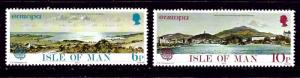 Isle of Man 99-100 MNH 1977 Europa