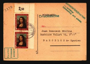 Germany 1952 Card w/ Better Pair - Z16913