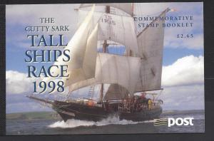 Ireland, 1144b, Tall Ships Race 1998 Booklet, **MNH**
