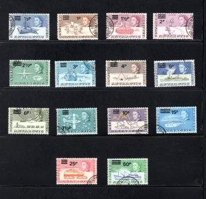 British Antarctic Territory #25-38, VF, Used, CV $99.65  ..... 0790003