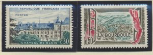 France Stamps Scott #965 To 966, Mint Hinged
