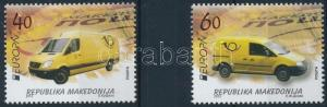 Macedonia stamp Europa CEPT Postal vehicles set 2013 MNH WS221044