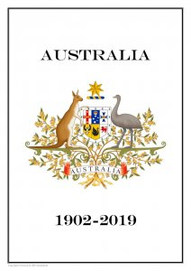 AUSTRALIA 1902 - 2019  PDF (DIGITAL) STAMP  ALBUM PAGES  (569 pages)