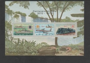 ANGOLA #C36a  1970 STAMP CENTENARY     MINT VF NH  O.G S/