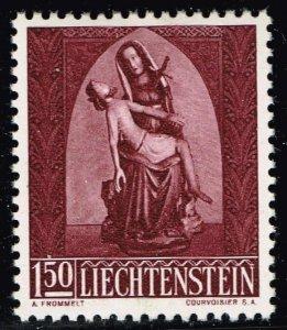Liechtenstein Stamp 1957 Christmas MH/OG STAMP 1.50 FR