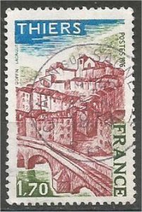 FRANCE, 1976 used 1.70fr, Thiers, Scott 1472
