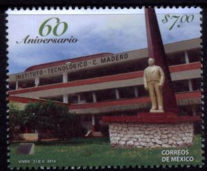 MEXICO 2906, 60th Anniv Technological Inst Cd Madero. MNH