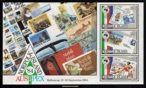 Norfolk Islands Scott 346a Mint never hinged.
