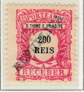 Portugal ST. THOMAS AND PRINCE ISLANDS 1911 200r MNG A5P55F35