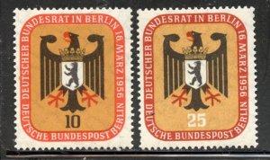 Berlin # 9N118-9, Mint Hinge. CV $ 5.20