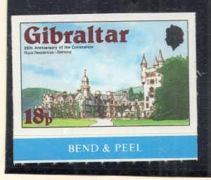 Gibraltar 1978 QEII Early Issue Fine Mint Unmounted 18p. NW-99278