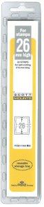 Scott Mount 26 x 215 mm  (Scott 1049 Clear)