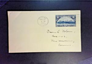 Canada SC# 204 First Day Cover - Z1389